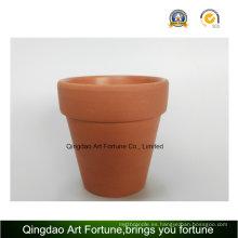 Exterior-natural- arcilla titular de cerámica grande