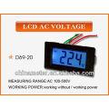 D69-20 LCD AC Voltage Panel Meter