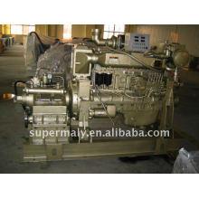(10-1000kW) Motor marino del precio de fábrica y caja de engranajes
