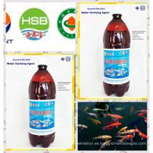 Agente biobaterial de algas para purificar agua de acuicultura