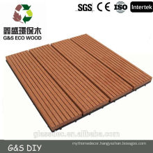 Plastic wpc decking with CE certificate