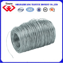 Fil de revêtement de zinc brillant pour matériaux de construction
