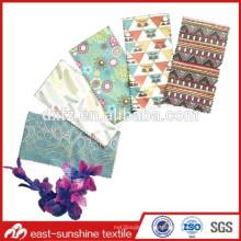 Bolsos personalizados de encargo de la joyería de la insignia del microfiber, bolsos de encargo de encargo de la joyería de la insignia y bolso