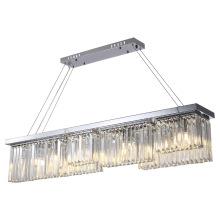 Iluminação candelabro de cozinha com cercadura
