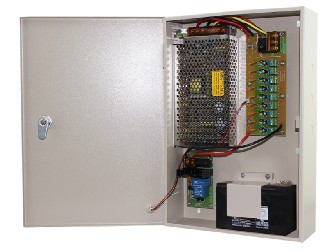 12vdc Power Supply with Battery Backup