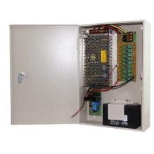 Unidad de fuente de alimentación CCTV con Backup12V10A