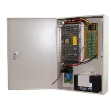 Unité d'alimentation CCTV avec Backup12V10A