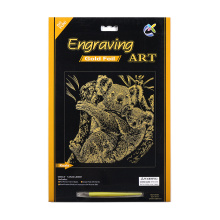 Paper Crafts Engraving Art Scratch Cards