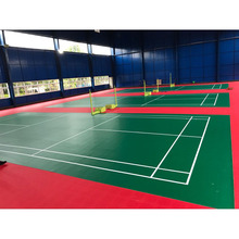 Anti-skidding Badmintion Used Sports Flooring