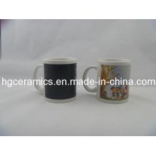 Color Change Mug, Decal Printed Color Change Mug