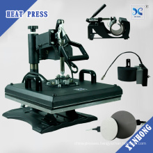 2017 Prime Multipurpose Sublimation Combo Heat Press 8 in 1 Printing Machine