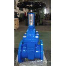 Válvula de gaveta de haste não ascendente com indicador de posição