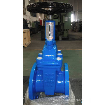 Non-Rising Stem Gate Valve with Position Indicator