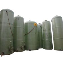 Tanque de fibra de vidrio / GRP / FRP para almacenar y transportar ácidos químicos y álcalis
