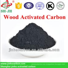 carbón negro activado para la venta