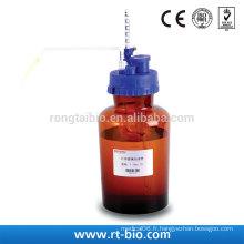 Distributeur de bouteille à injection réglable en verre