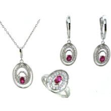 Alta qualidade e moda jóias da mulher 925 prata set (s3293)