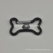 2016 hueso de perro forma de mosquetón forma diferente de mosquetón para escalar de excursión