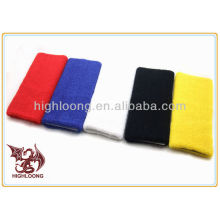 2016 New design Breathable custom tennis sweatbands wristbands