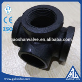 casting iron decorative pipe cross/3d corss with high quality