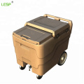 Insulated Ice Caddy with Wheels
