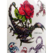 scorpion temporary tattoo sticker