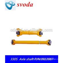 Eixo de transmissão dianteira da Terex 09013987