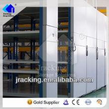 Cremalheira móvel do vestuário do armazenamento do armazém de Nanjing Jracking