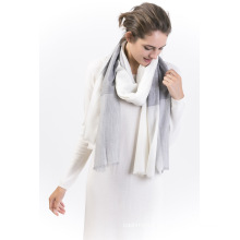 Joint-90%Wool&10%Cashmere Ladies Scarf