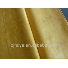 Золотой Shadda дамасской Гвинея brocade супер Базен riche 100%хлопок Нигерии ткани одежды