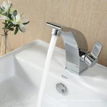 Mélangeur de cuvette en laiton antique et robinet de bassin