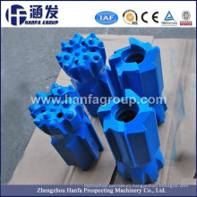 Thread Drill Bits with Rock Drilling Tools
