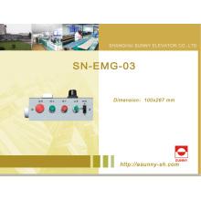 Caja superior del mantenimiento del coche para el elevador (SN-EMG-03A)