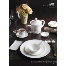 A049 Hot sale fine bone china tableware dinner set