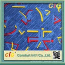 Impression de tissu auto pour le siège de siège d'auto (SAZD04175)