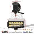 IP67 6000K doble fila 6,5 pulgadas 36W llevó barra de luz para la luz del coche LED