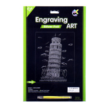 Art Supplies Art Print Crafts Scratch Cards
