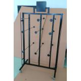 2 ways metallic sandals display stand, flip flops display rack
