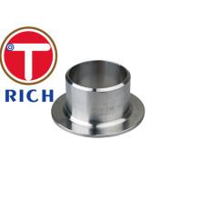 Tubo de aço inoxidável / extremidade do tubo de montagem do tubo