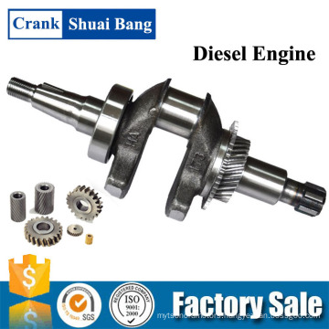 Shuaibang Competitive Price Machinery Gasoline Powered Generator Crankshaft Manufacture