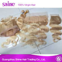 613 Brazilian Platinum Blonde Mongolian Hair Extensions
