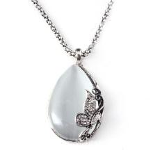 2012 Fashion Jewelry Sets Silver Opal Pendant Necklace