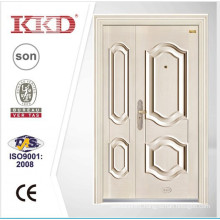 New design white security double door KKD-201B