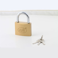 Imitate Brass Arc Type Padlock (brass painted finishing)