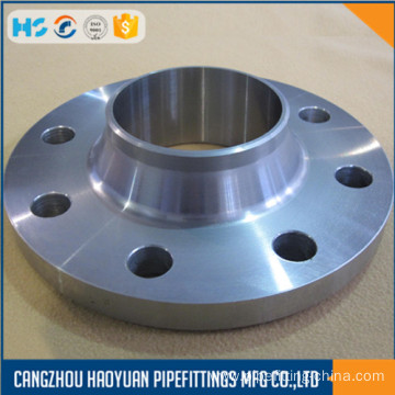 Top for Long Weld Neck Flange ANSI 150LB A105N Welding Neck RF Flanges supply to Anguilla Suppliers