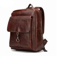Натуральная кожа сумки школа рюкзак для мужчин