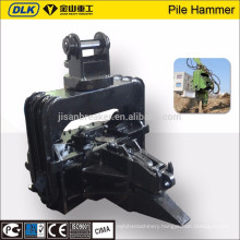 DLK Excavator Accessories Hydraulic Vibratory Pile Driver