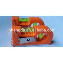 HD-MN14, mini magnetische Wasserwaage 3 Durchstechflaschen, Aluminium-Niveau