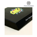 Glossy black custom logo pint shipping box