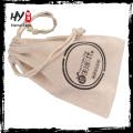 Bolsas de cordón impresas logotipo caliente recomendado caliente de la lona con alta calidad